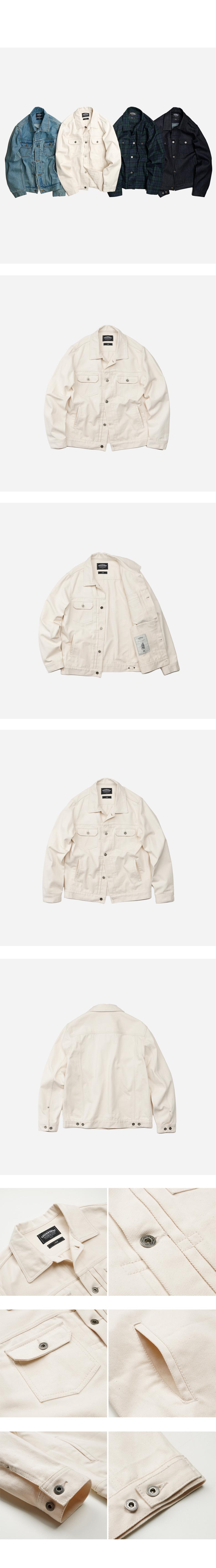 Adams trucker jacket _ oatmeal